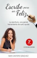 Escribe para ser feliz, 3º edición, portada comprimida, Mar Cantero Sánchez