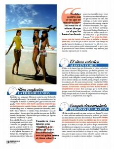 COSMOPOLITAN Nº 261, pag 3, Mar Cantero Sánchez