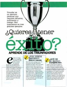 COSMOPOLITAN Nº 264, QUIERES TENER ÉXITO, pag 1, Mar Cantero Sánchez