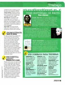 COSMOPOLITAN Nº 264, QUIERES TENER ÉXITO, pag 2, Mar Cantero Sánchez