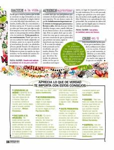 COSMOPOLITAN Nº 266, LO QUE DE VERDAD IMPORTA, pag 3, Mar Cantero Sánchez