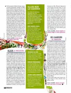 COSMOPOLITAN Nº 266, LO QUE DE VERDAD IMPORTA, pag 4, Mar Cantero Sánchez