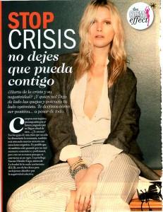 COSMOPOLITAN Nº 269, STOP CRISIS, Pag 1, Mar Cantero Sánchez
