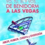 Yo tú él y vos...De Benidorm a Las vegas (Zafiro-Planeta) en RomanticaS - 031, portada, Mar Cantero Sánchez