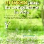 Psicología Práctica 186, pag 1, 10 ideas para no complicarte la vida, Mar Cantero Sánchez