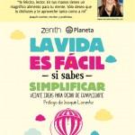 La vida es fácil (Zenith-Planeta), poster, Mar Cantero Sánchez, www.marcanterosanchez.com
