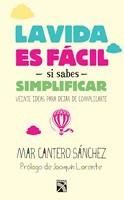 La vida es fácil si sabes simplificar, Diana, México, portada, Mar Cantero Sánchez
