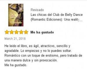 Las chicas del Club de Belly Dance, Crítica 8, Mar Cantero Sánchez, www.marcanterosanchez.com