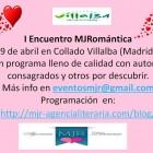 Presento y firmo en I Encuentro MJRomántica, Madrid
