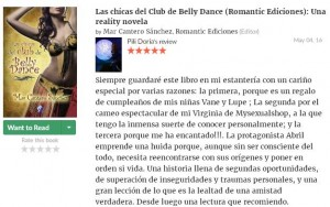 Las chicas del club de Belly Dance, Pili Doria 2, Mar Cantero Sánchez, www.marcanterosanchez.com