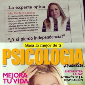 Psicología Prácticaz Nº 205, Mar Cantero Sánchez, www.marcanterosanchez.com
