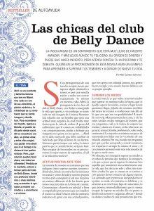 Las chicas del club de Belly Dance, Psicología Práctica Nº 205, pag 1, Mar Cantero Sánchez