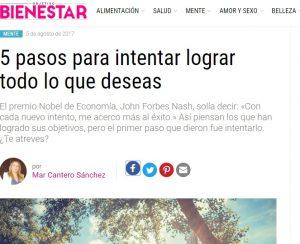 Objetivo Bienestar Digital, Agosto 2017