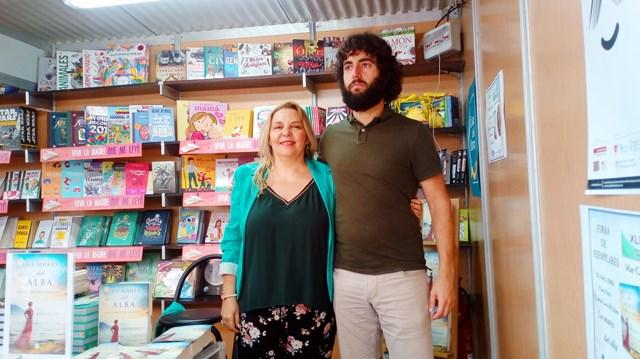 Los mares del alba, Feria del libro de Alicante 2018 (4), Mar Cantero Sánchez, www.marcanterosanchez.com [640x480]