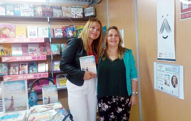 Los mares del alba, Feria del libro de Alicante 2018 (7), Mar Cantero Sánchez, www.marcanterosanchez.com [640x480]