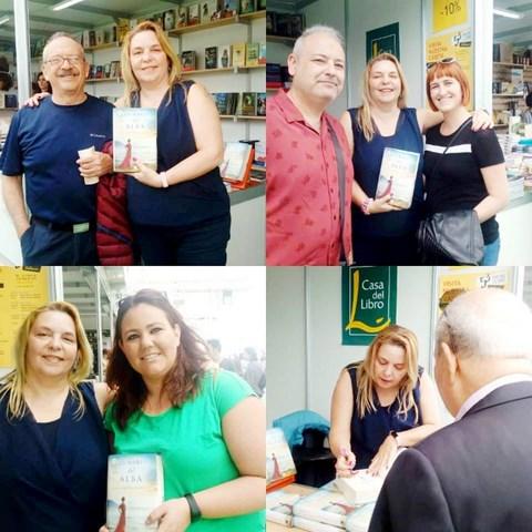 Feria del Libro de Valencia 2018, Los mares del alba, Mar Cantero Sánchez, www.marcanterosanchez.com [640x480]