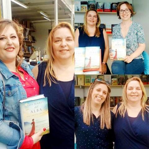 Los mares del alba, Feria del libro de Valencia 2018, Mar Cantero Sánchez, www.marcanterosanchez.com [640x480]