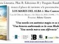 Cartel presentación LOS MARES DEL ALBA [640x480]