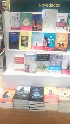 Los mares del alba, Casa del libro Alicante 1, Mar Cantero Sánchez, www.marcanterosanchez.com [640x480]