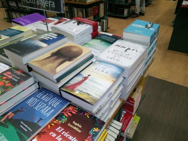 Los mares del alba, Casa del libro Valencia 1, Mar Cantero Sánchez, www.marcanterosanchez.com [640x480]