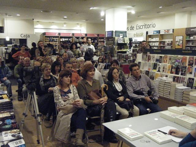 Presentación La vida es fácil 20, Casa del libro, Mar Cantero Sánchez, www.marcanterosanchez.com