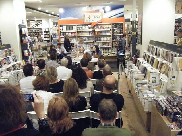 Presentación La vida es fácil 36, Casa del libro, Mar Cantero Sánchez, www.marcanterosanchez.com