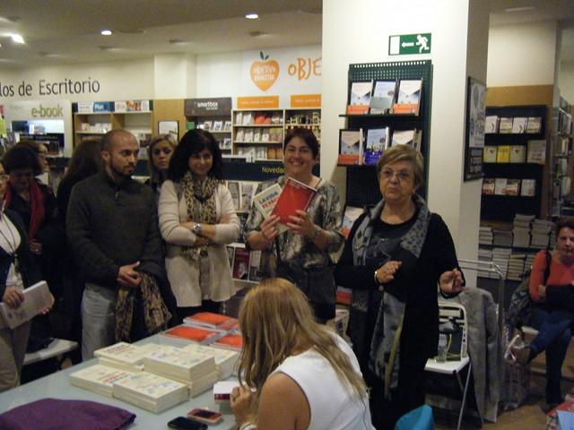 Presentación La vida es fácil 52, Casa del libro, Mar Cantero Sánchez, www.marcanterosanchez.com