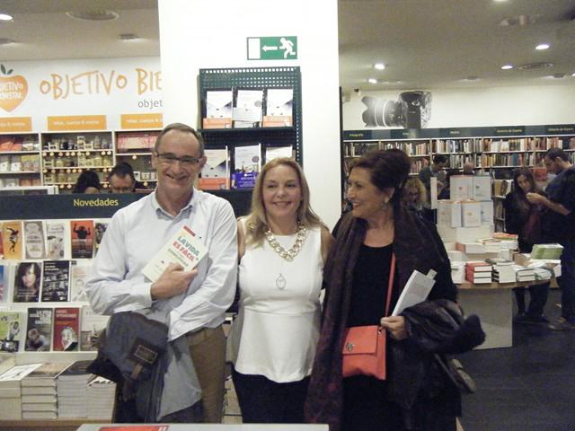 Presentación La vida es fácil 86, Casa del libro, Mar Cantero Sánchez, www.marcanterosanchez.com