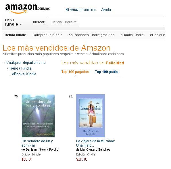 La viajera de la felicidad 1, Amazon México, Mar Cantero Sánchez,