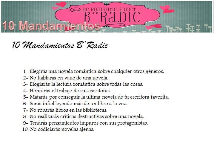 Estaré en el B'Radic (Encuentro de Romántica) en Barcelona