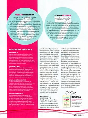Objetivo bienestar, pag 5, nº 2, Simplifica tu vida, Mar Cantero Sánchez