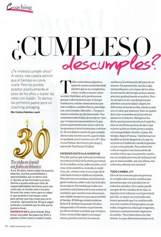 Objetivo Bienestar Nº 6, Cumples o descumples, pag 1, Mar Cantero Sánchez,