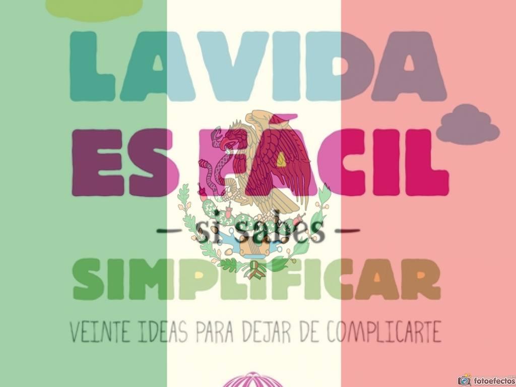 ¡»La vida es fácil» se publicará en México en Junio!