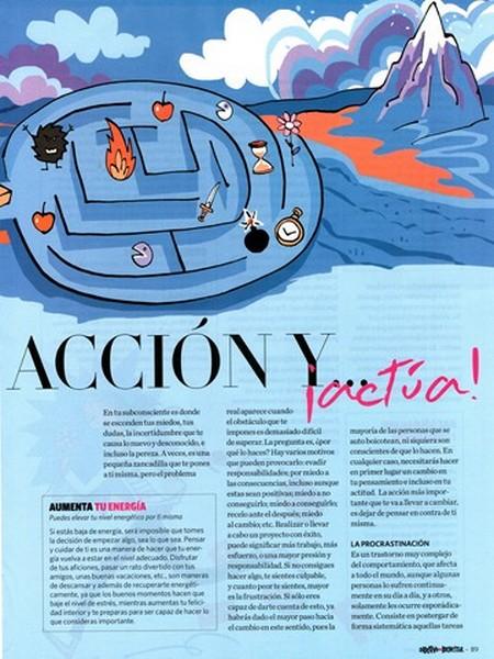 Objetivo bienestar Nº 4, pag 2, Di no a la inacción y actúa, Mar Cantero Sánchez