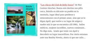 Las chicas del club de Belly Dance, Nos vamos de Viaje, Nuria Pazos, Mar Cantero Sánchez, www.marcanterosanchez.com