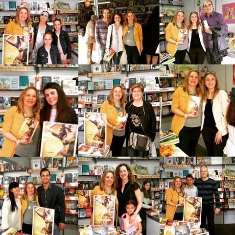 ¡Éxito total! Feria del libro, Alicante 2016