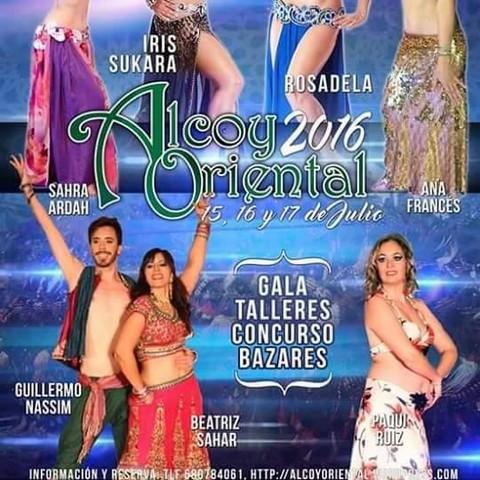 FIRMA DE EJEMPLARES FESTIVAL ALCOY ORIENTAL