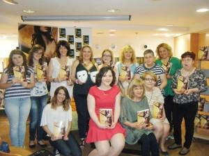 Las chicas del club de Belly Dance, presentación Valencia, Casa del Libro, Mar Cantero Sánchez 18, www.marcanterosanchez.com