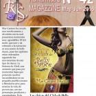 LAS CHICAS DEL CLUB DE BELLY DANCE en la revista Romanticas