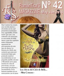 Las chicas del club de Belly Dance, revista Romanticas, Mar Cantero Sánchez, www.marcanterosanchez.com