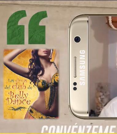 Las chicas del Club de Belly Dance  recomendada en TV, programa Convénzeme, de Mercedes Milá
