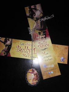 Las chicas del club de Belly Dance, sorteo colgante y marcapáginas, Mar Cantero Sánchez, www.marcanterosanchez.com