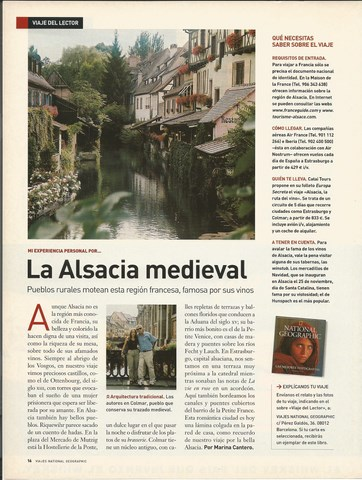 National Geographic artículo Alsacia, Mar Cantero Sánchez, www.marcanterosanchez.com