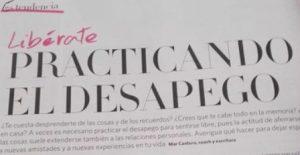 Objetivo Bienestar Nº 34, portada, Desapego, Mar Cantero Sánchez, www.marcanterosanchez.com