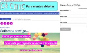 Cé CHIC para mentes abiertas, suscripciones, wwwcechic.com [640x480]
