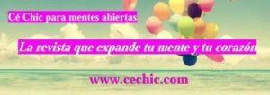 Cé Chic para mentes abiertas, frase 1, web pequeño, www.cechic