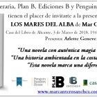 Próxima presentación de LOS MARES DEL ALBA en Alicante