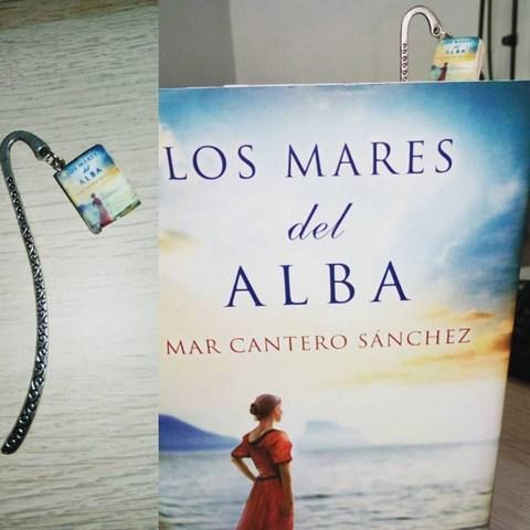 Los mares del alba, Mar Cantero Sánchez, separador regalo Sandra de Oyagüe, www.marcanterosanchez.com