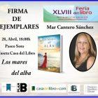Mar Cantero firmará ejemplares, Feria del Libro de Alicante