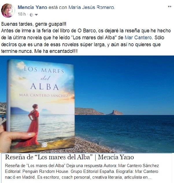 Alucinante reseña de LOS MARES DEL ALBA